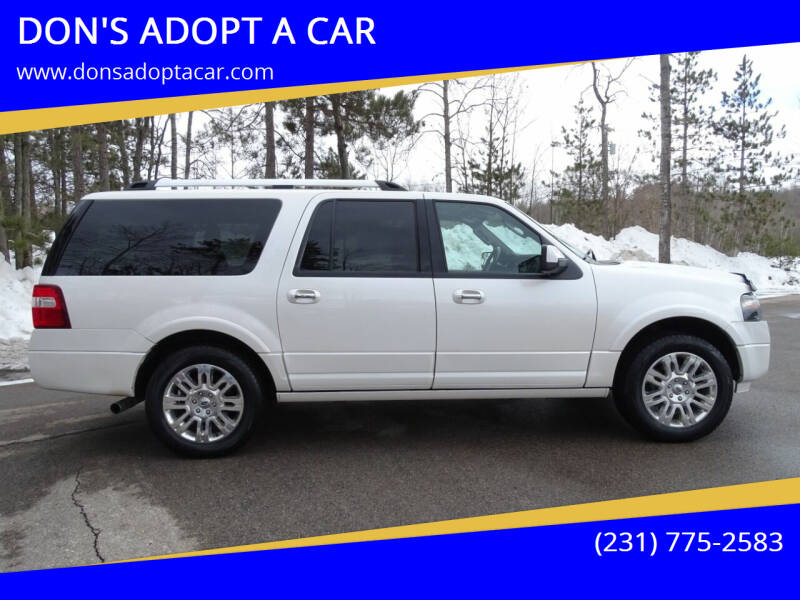 2013 Ford Expedition EL for sale at DON'S ADOPT A CAR in Cadillac MI