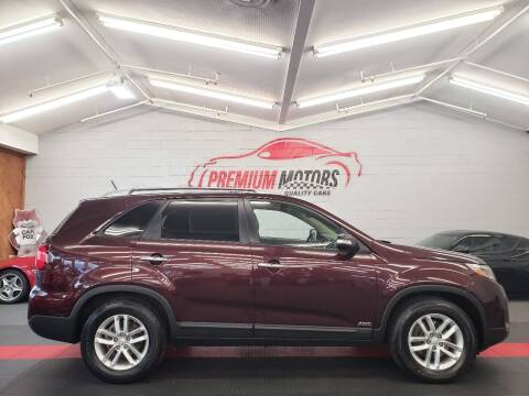 2015 Kia Sorento for sale at Premium Motors in Villa Park IL