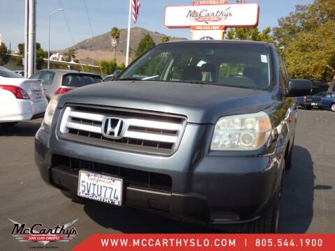 2006 Honda Pilot for sale at McCarthy Wholesale in San Luis Obispo CA