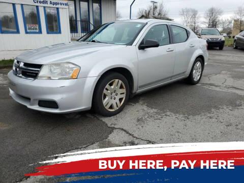 2012 Dodge Avenger for sale at E.L. Davis Enterprises LLC in Youngstown OH