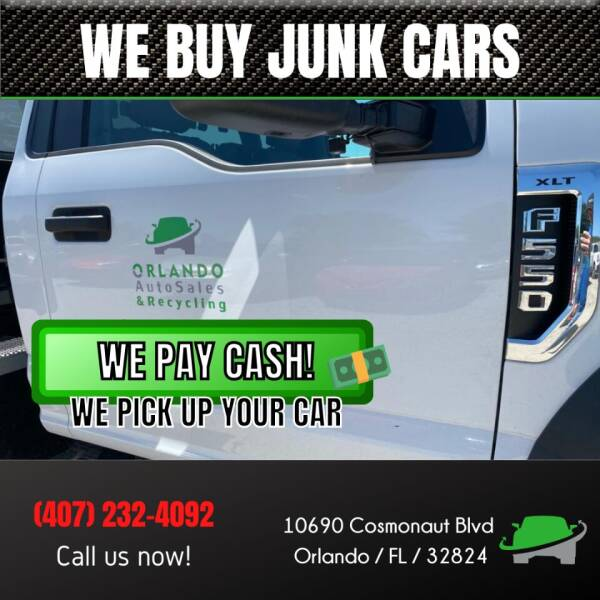 2011 Toyota Camry for sale at Orlando Auto Sales Recycling in Orlando FL