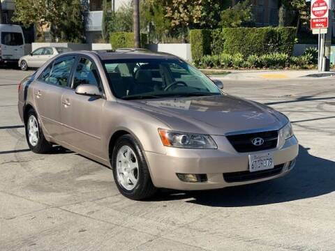 2006 Hyundai Sonata for sale at Good Vibes Auto Sales in North Hollywood CA
