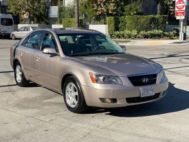 2006 Hyundai Sonata for sale at Good Vibes Auto Sales in North Hollywood CA