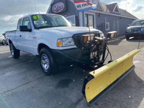 2007 Ford Ranger for sale at Cape Cod Carz in Hyannis MA