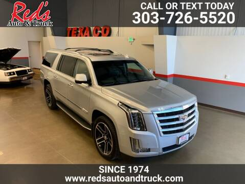 2016 Cadillac Escalade ESV for sale at Red's Auto and Truck in Longmont CO