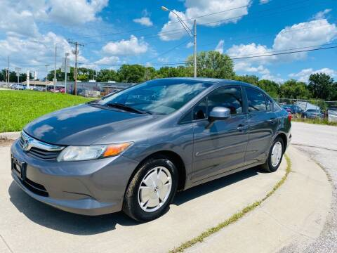 2012 Honda Civic for sale at Xtreme Auto Mart LLC in Kansas City MO