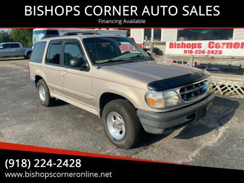 1998 Ford Explorer for sale at BISHOPS CORNER AUTO SALES in Sapulpa OK