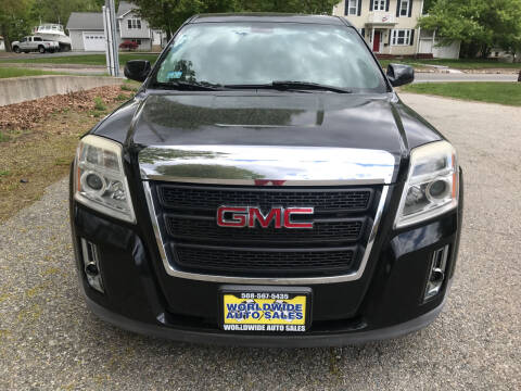 2011 GMC Terrain for sale at Worldwide Auto Sales in Fall River MA
