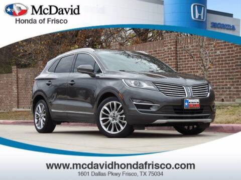 2017 Lincoln MKC for sale at DAVID McDAVID HONDA OF IRVING in Irving TX