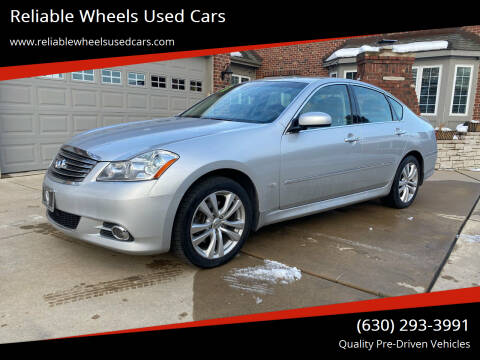 2008 Infiniti M35 for sale at Reliable Wheels Used Cars in West Chicago IL