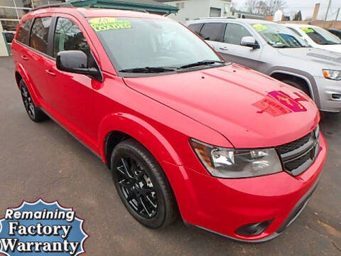 2018 Dodge Journey for sale at Jon's Auto in Marquette MI