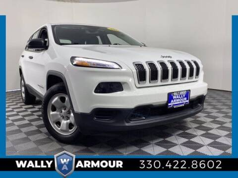 2017 Jeep Cherokee for sale at Wally Armour Chrysler Dodge Jeep Ram in Alliance OH