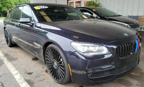 2013 BMW 7 Series for sale at Pars Auto Sales Inc in Stone Mountain GA