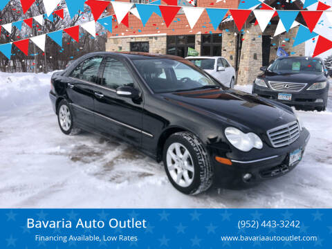 2007 Mercedes-Benz C-Class for sale at Bavaria Auto Outlet in Victoria MN