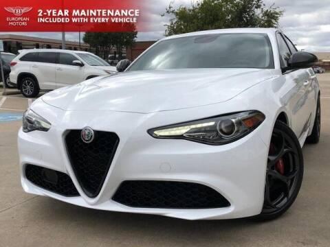 2019 Alfa Romeo Giulia for sale at European Motors Inc in Plano TX