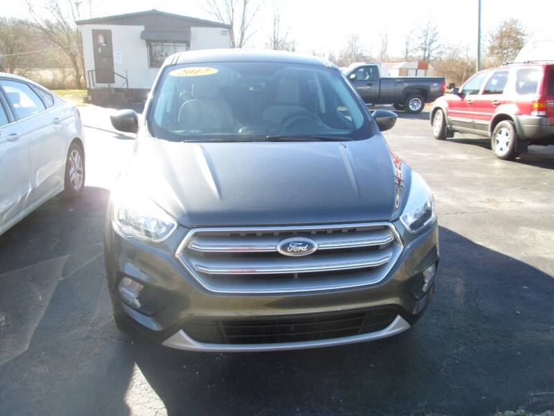 2017 Ford Escape for sale at Knauff & Sons Motor Sales in New Vienna OH