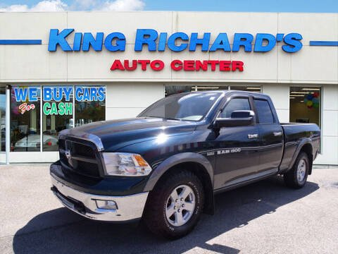 2011 RAM Ram Pickup 1500 for sale at KING RICHARDS AUTO CENTER in East Providence RI