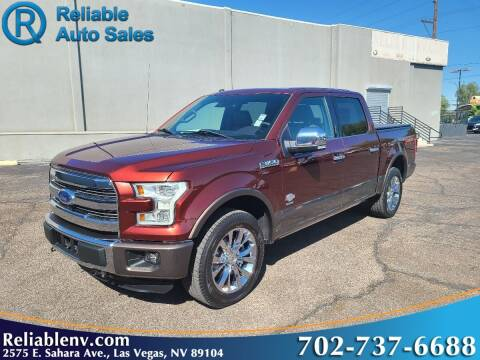 2016 Ford F-150 for sale at Reliable Auto Sales in Las Vegas NV