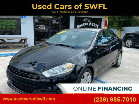 2014 Dodge Dart for sale at Used Cars of SWFL in Fort Myers FL
