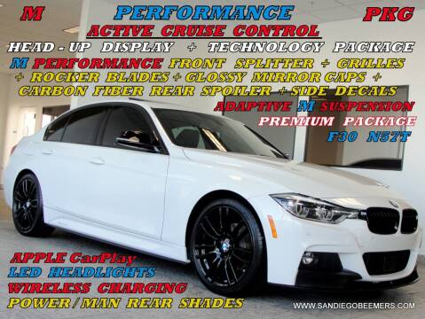 2017 BMW 3 Series for sale at SAN DIEGO BEEMERS in San Diego CA