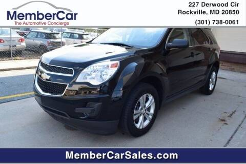 2015 Chevrolet Equinox for sale at MemberCar in Rockville MD