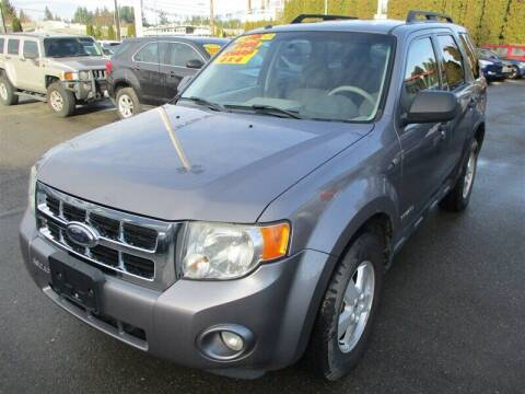 2008 Ford Escape for sale at GMA Of Everett in Everett WA