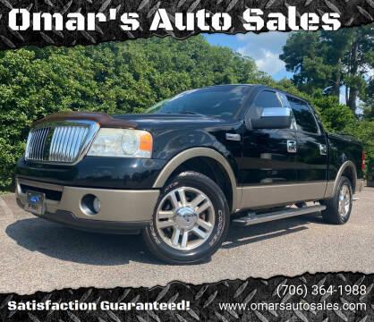 2006 Ford F-150 for sale at Omar's Auto Sales in Martinez GA
