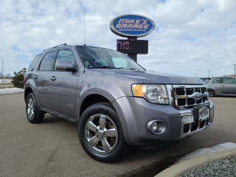 2008 Ford Escape for sale at Monkey Motors in Faribault MN