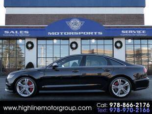 2018 Audi S6 for sale at Highline Group Motorsports in Lowell MA