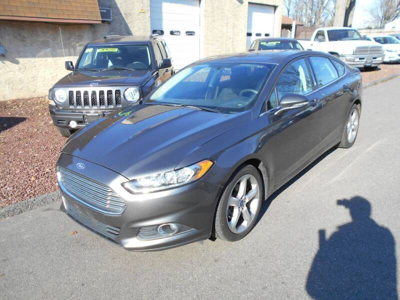2016 Ford Fusion for sale at MARANO MOTORS INC in Sewaren NJ