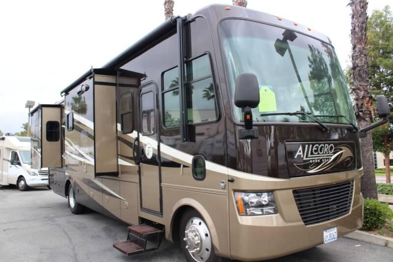2012 Tiffin Allegro 34TGA for sale at Rancho Santa Margarita RV in Rancho Santa Margarita CA