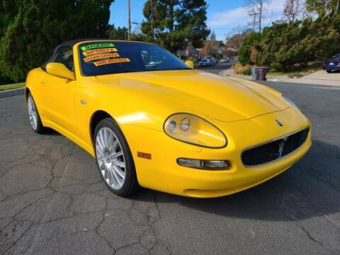 2002 Maserati Spyder for sale at CAR CITY SALES in La Crescenta CA