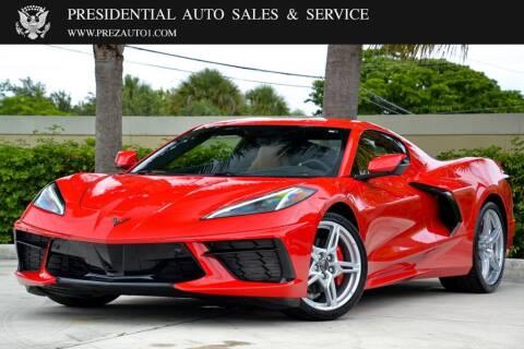 2021 Chevrolet Corvette for sale at Presidential Auto  Sales & Service in Delray Beach FL
