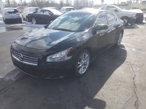 2010 Nissan Maxima for sale at Nonstop Motors in Indianapolis IN