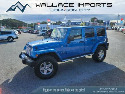2016 Jeep Wrangler Unlimited for sale at WALLACE IMPORTS OF JOHNSON CITY in Johnson City TN