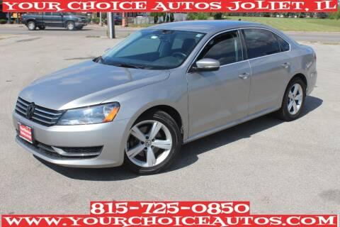 2014 Volkswagen Passat for sale at Your Choice Autos - Joliet in Joliet IL