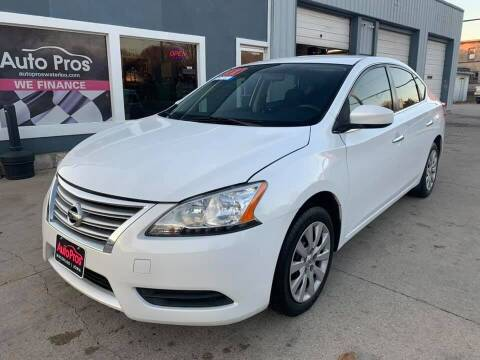 2014 Nissan Sentra for sale at AutoPros - Waterloo in Waterloo IA