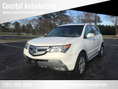 2008 Acura MDX for sale at Coastal Automotive in Virginia Beach VA