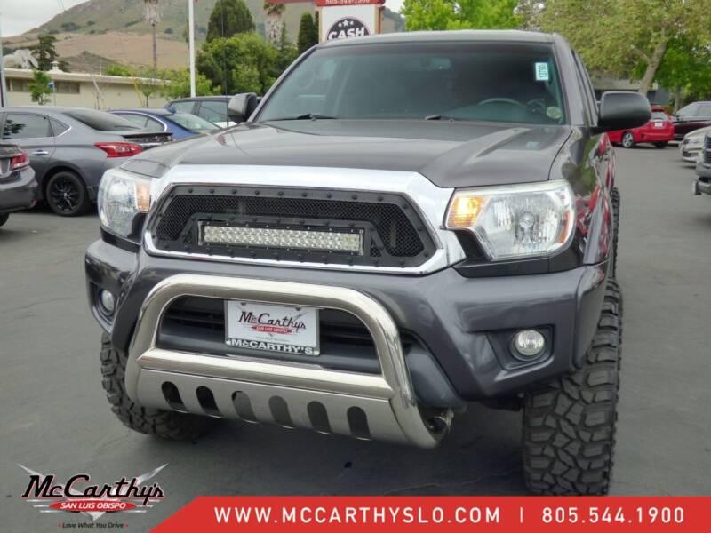 2013 Toyota Tacoma for sale at McCarthy Wholesale in San Luis Obispo CA