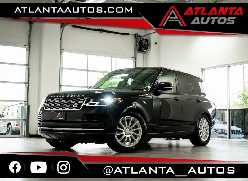 2018 Land Rover Range Rover for sale in Marietta, GA