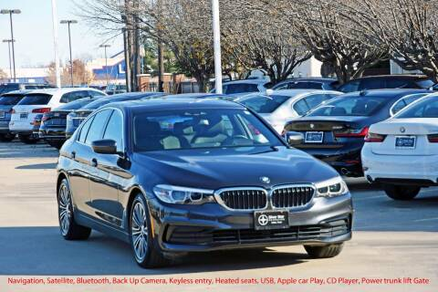2019 BMW 5 Series for sale at Silver Star Motorcars in Dallas TX