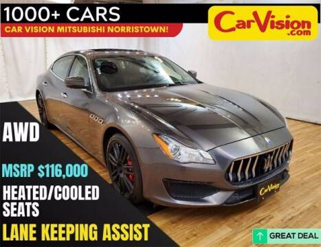 2017 Maserati Quattroporte for sale at Car Vision Buying Center in Norristown PA