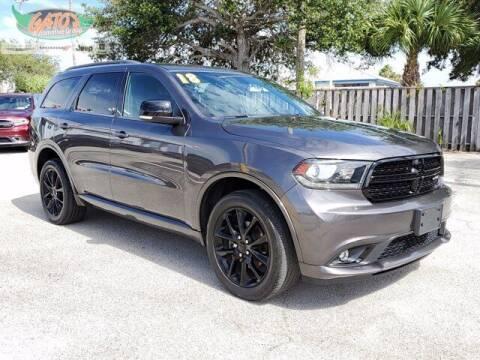 2018 Dodge Durango for sale at GATOR'S IMPORT SUPERSTORE in Melbourne FL