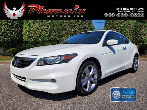 2012 Honda Accord for sale at Phoenix Motors Inc in Raleigh NC