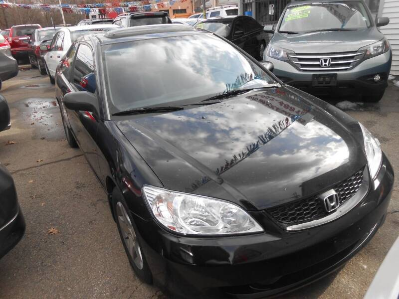 2004 Honda Civic for sale at N H AUTO WHOLESALERS in Roslindale MA