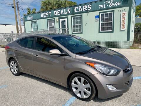 2013 Hyundai Elantra for sale at Best Deals Cars Inc in Fort Myers FL