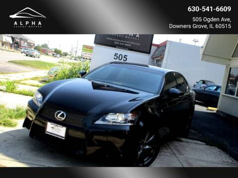 2015 Lexus GS 350 for sale at Alpha Luxury Motors in Downers Grove IL