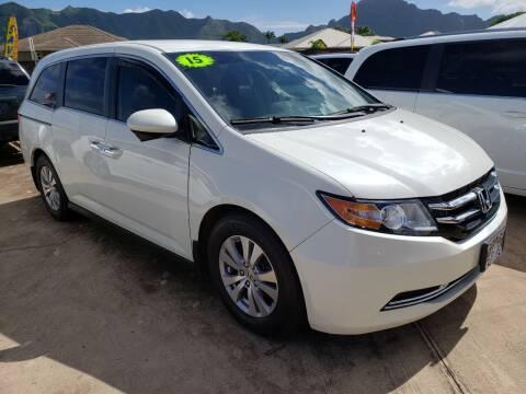 2015 Honda Odyssey for sale at Ohana Motors in Lihue HI