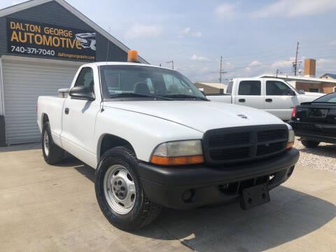 2003 Dodge Dakota for sale at Dalton George Automotive in Marietta OH