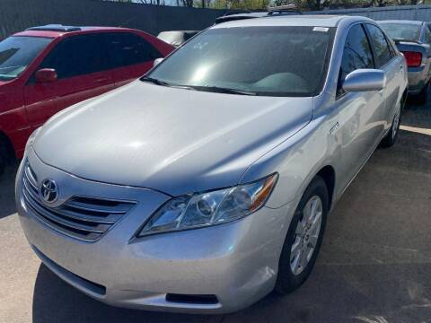 2009 Toyota Camry Hybrid for sale at Auto Solutions in Warr Acres OK
